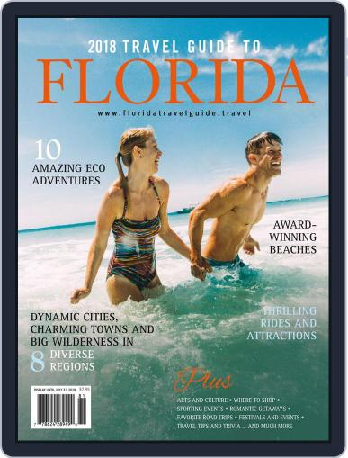 Travel Guide to Florida Magazine (Digital) July 31st, 2018 Issue Cover