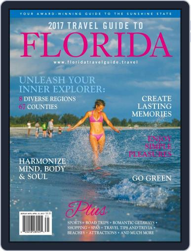 Travel Guide to Florida Magazine (Digital) January 1st, 2017 Issue Cover
