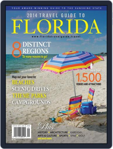 Travel Guide to Florida Magazine (Digital) December 1st, 2014 Issue Cover