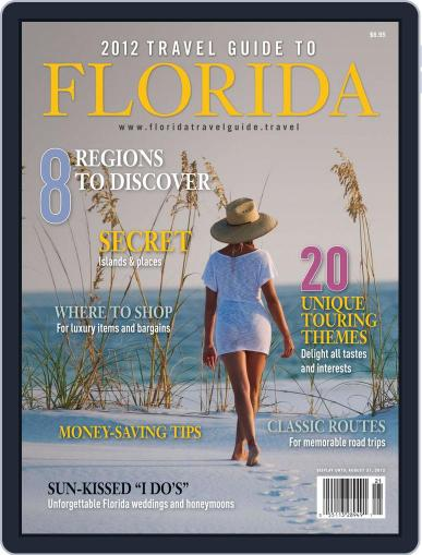 Travel Guide to Florida Magazine (Digital) December 1st, 2012 Issue Cover
