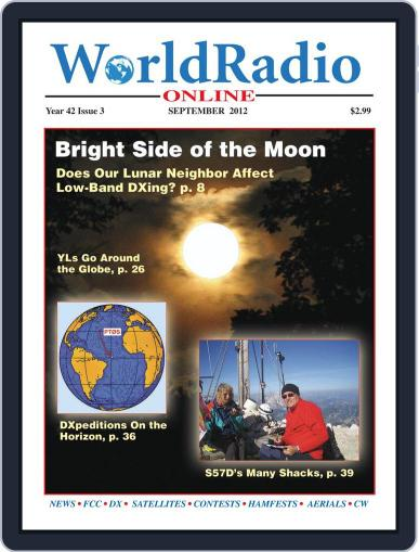Worldradio Online (Digital) August 25th, 2012 Issue Cover
