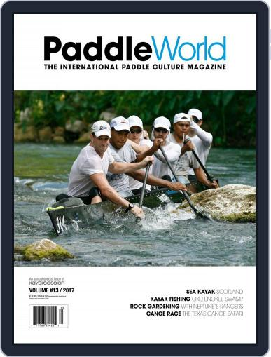 Paddle World July 1st, 2017 Digital Back Issue Cover