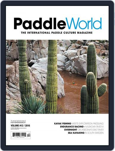 Paddle World July 1st, 2016 Digital Back Issue Cover