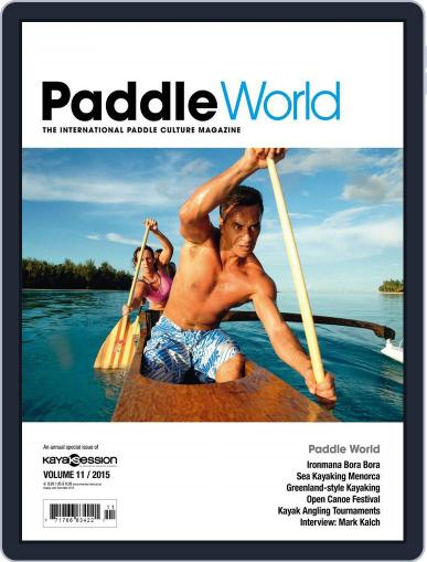 Paddle World June 29th, 2015 Digital Back Issue Cover