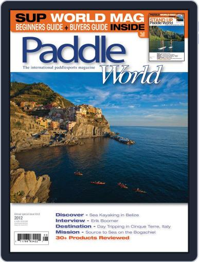 Paddle World June 1st, 2012 Digital Back Issue Cover