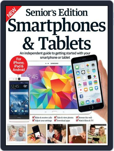 Senior's Edition Smartphones & Tablets May 13th, 2015 Digital Back Issue Cover