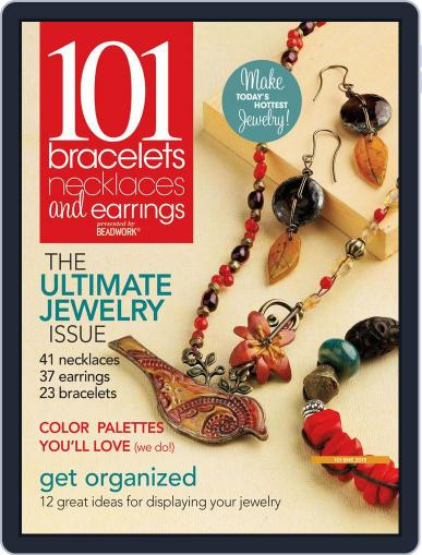 Create Jewelry: 101 All-New Designs Magazine (Digital) July 17th, 2013 Issue Cover