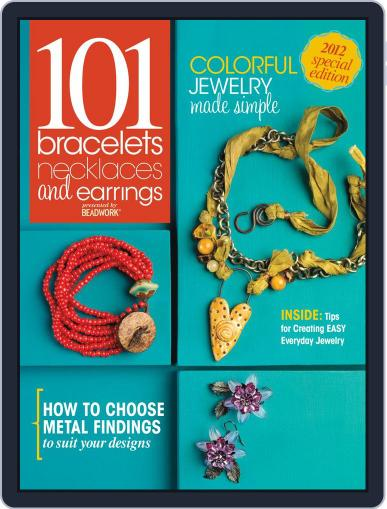 Create Jewelry: 101 All-New Designs Magazine (Digital) July 3rd, 2012 Issue Cover