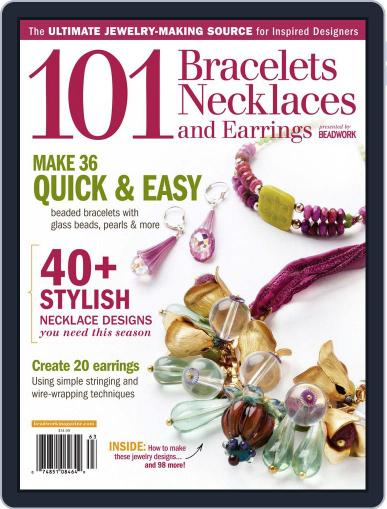 Create Jewelry: 101 All-New Designs August 2nd, 2011 Digital Back Issue Cover