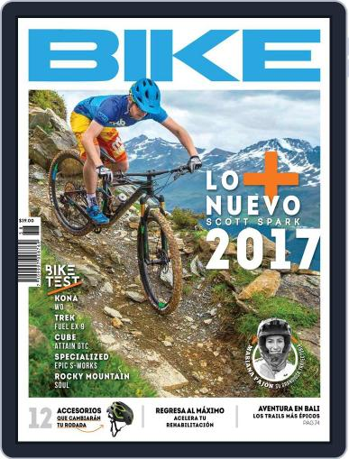 Bike México (Digital) August 1st, 2016 Issue Cover