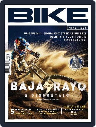 Bike México (Digital) October 20th, 2015 Issue Cover