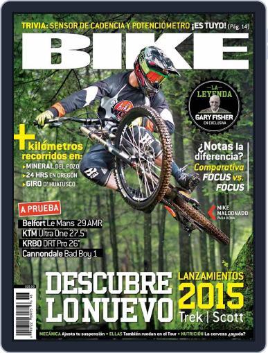 Bike México (Digital) August 21st, 2014 Issue Cover