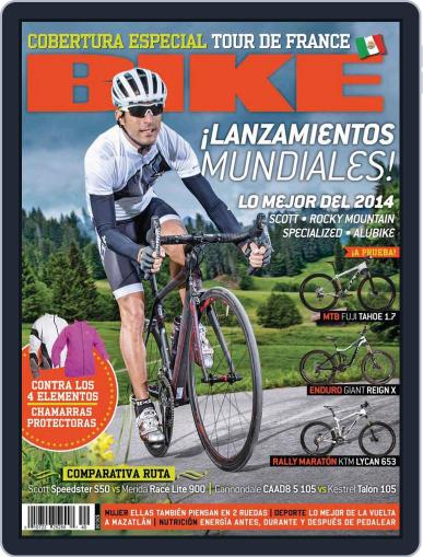 Bike México (Digital) August 20th, 2013 Issue Cover