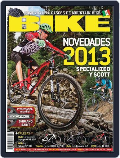 Bike México (Digital) August 21st, 2012 Issue Cover