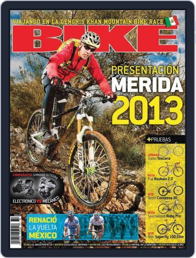Bike México (Digital) April 19th, 2012 Issue Cover