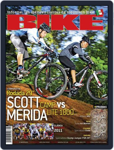 Bike México (Digital) October 25th, 2011 Issue Cover