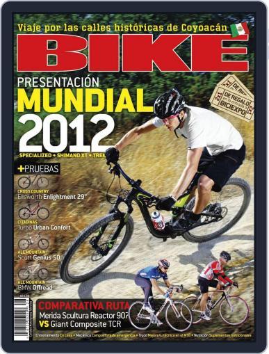 Bike México (Digital) August 28th, 2011 Issue Cover