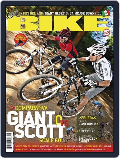 Bike México (Digital) February 20th, 2011 Issue Cover