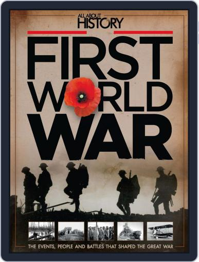 All About History Book Of The First World War Magazine (Digital) May 21st, 2014 Issue Cover