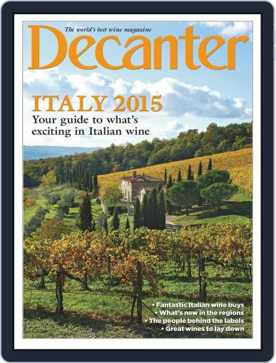 Decanter Italy Magazine (Digital) April 7th, 2015 Issue Cover