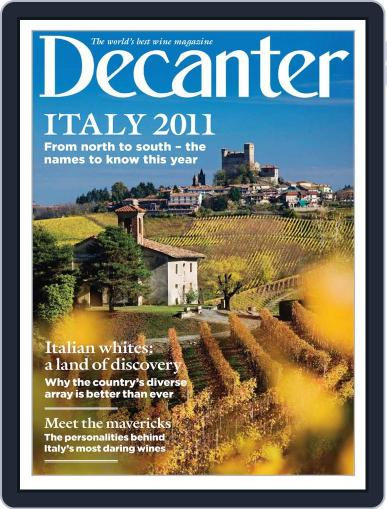 Decanter Italy Magazine (Digital) December 30th, 2010 Issue Cover