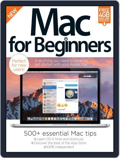 Mac For Beginners Magazine (Digital) September 27th, 2016 Issue Cover