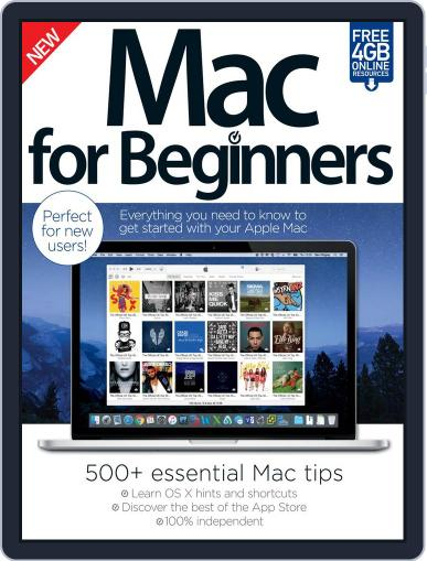 Mac For Beginners Magazine (Digital) April 1st, 2016 Issue Cover