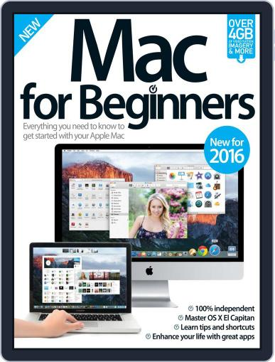 Mac For Beginners Magazine (Digital) January 1st, 2016 Issue Cover