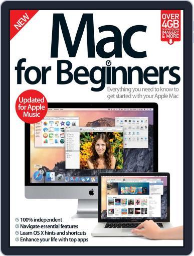 Mac For Beginners Magazine (Digital) September 2nd, 2015 Issue Cover