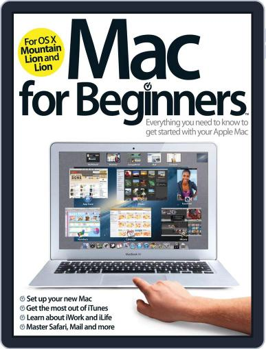 Mac For Beginners Magazine (Digital) January 23rd, 2013 Issue Cover