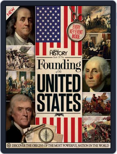 All About History Book of the Founding of the United States Volume 1 January 1st, 2016 Digital Back Issue Cover