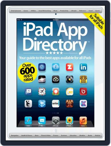 iPad App Directory October 1st, 2012 Digital Back Issue Cover