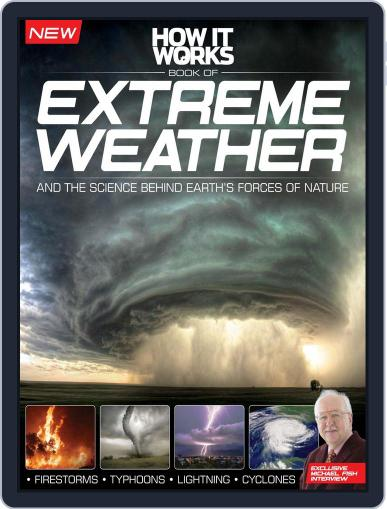 How It Works Book of Extreme Weather Magazine (Digital) January 28th, 2015 Issue Cover