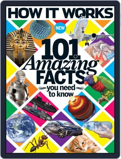 How It Works Book of 101 Amazing Facts You Need To Know Magazine (Digital) September 16th, 2015 Issue Cover
