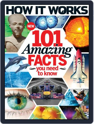 How It Works Book of 101 Amazing Facts You Need To Know Magazine (Digital) March 4th, 2015 Issue Cover