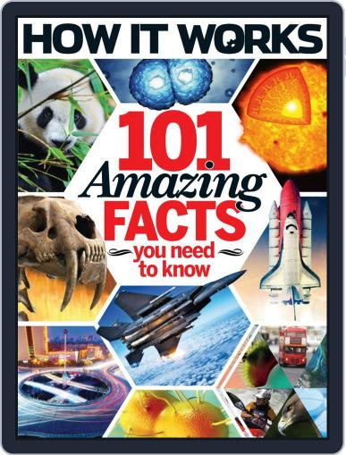 How It Works Book of 101 Amazing Facts You Need To Know Magazine (Digital) March 26th, 2014 Issue Cover