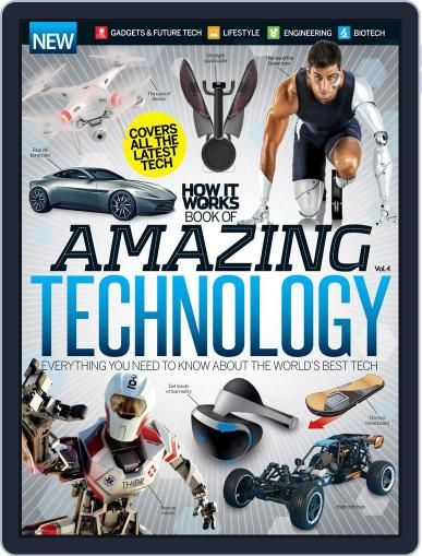 How It Works Book of Amazing Technology Magazine (Digital) June 1st, 2016 Issue Cover