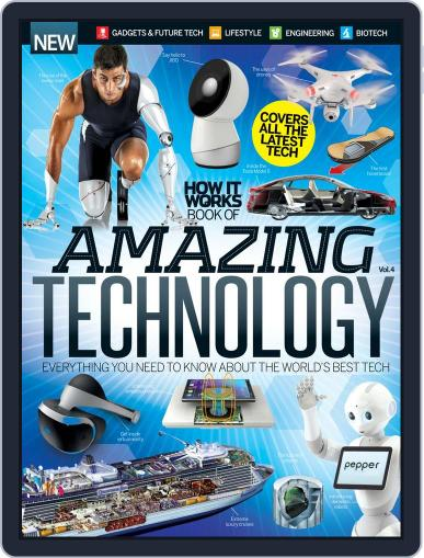 How It Works Book of Amazing Technology Magazine (Digital) November 4th, 2015 Issue Cover
