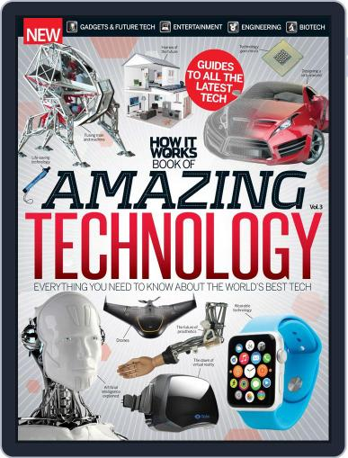 How It Works Book of Amazing Technology Magazine (Digital) June 17th, 2015 Issue Cover