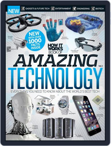 How It Works Book of Amazing Technology Magazine (Digital) November 27th, 2014 Issue Cover