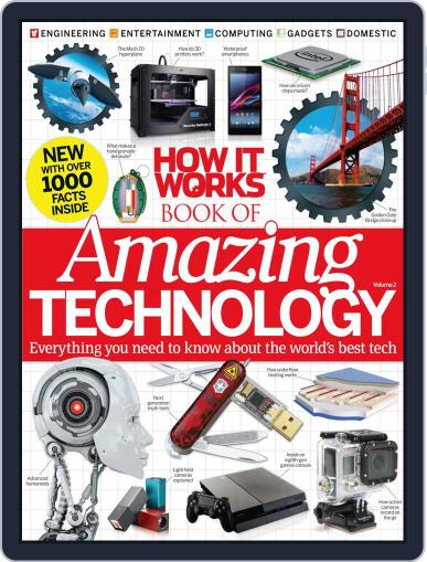 How It Works Book of Amazing Technology Magazine (Digital) May 29th, 2014 Issue Cover