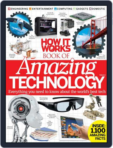 How It Works Book of Amazing Technology Magazine (Digital) July 1st, 2013 Issue Cover