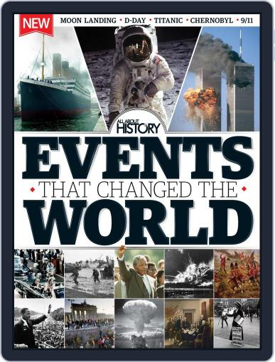 All About History Events That Changed The World Magazine (Digital) March 25th, 2015 Issue Cover