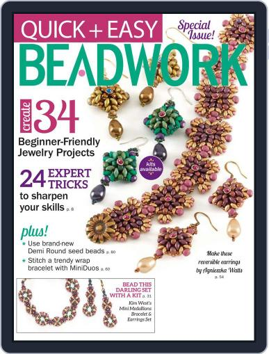 Quick & Easy Beadwork Magazine (Digital) January 1st, 2017 Issue Cover