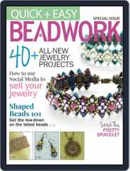 Quick & Easy Beadwork Magazine (Digital) Subscription October 8th, 2014 Issue
