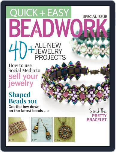 Quick & Easy Beadwork Magazine (Digital) October 8th, 2014 Issue Cover