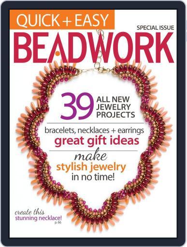 Quick & Easy Beadwork Magazine (Digital) October 1st, 2013 Issue Cover