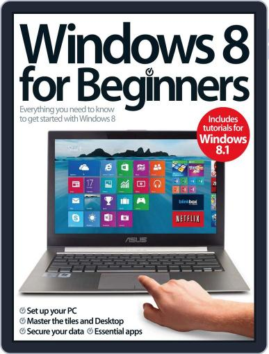 Windows 8 For Beginners February 24th, 2014 Digital Back Issue Cover