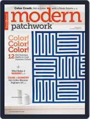 Modern Patchwork Magazine (Digital) Subscription July 1st, 2018 Issue