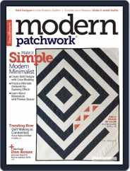 Modern Patchwork Magazine (Digital) Subscription November 1st, 2017 Issue